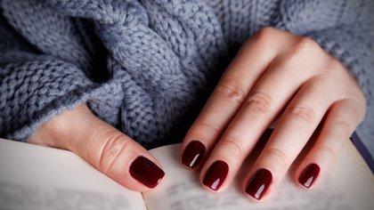 El color bordó sigue liderando el (Shutterstock)