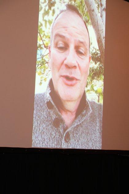El embajador de Israel en la Argentina, Ilan Sztulman, envió sus saludos desde Israel