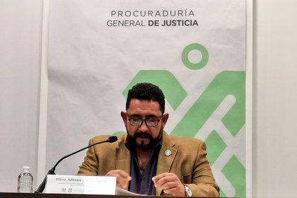 El vocero de la Fiscalía de la capital del país, Ulises Lara, declaró en conferencia de prensa que hasta el momento no hay indicios de que se haya tratado de un secuestro, extorsión, o cobro de piso (Foto: Twitter/@PGJCDMX)