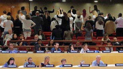Muchos protestaron contra la designación de la Mujer Maravilla como embajadora de ONU Mujer (AP)