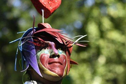 Un miembro de del LGBTIQ en Madrid (Foto: Oscar del Pozo/AFP)