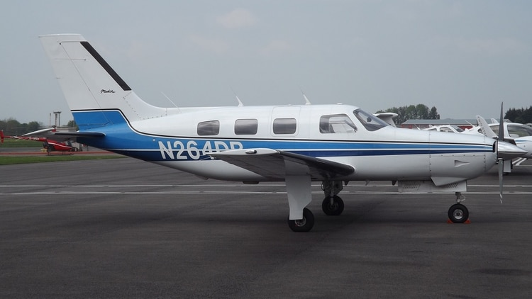 El Piper PA-46 Malibu en el que viajaba Emiliano Sala (James from Cheltenham)