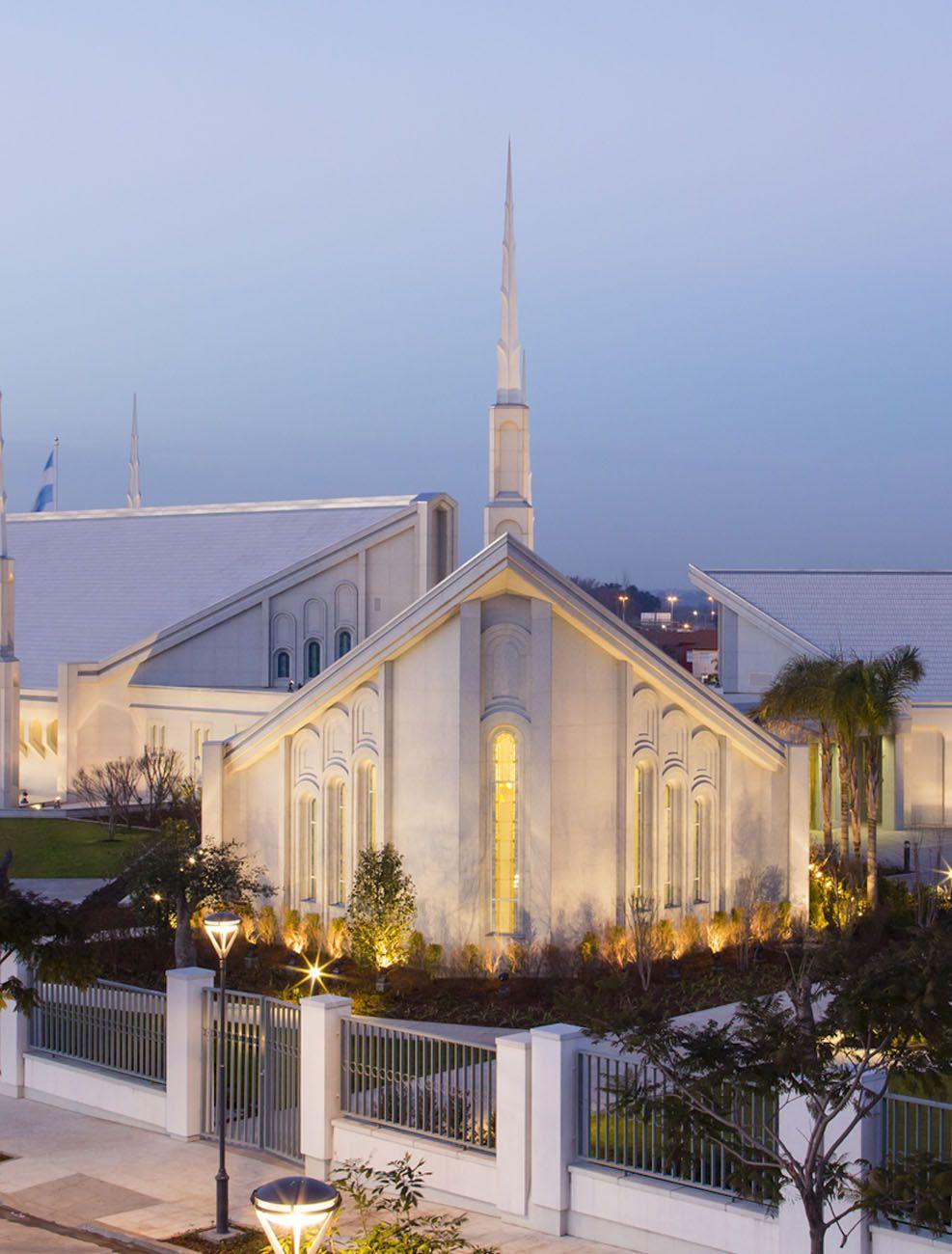 Un templo mormón en Buenos Aires, Argentina (Foto: Especial)