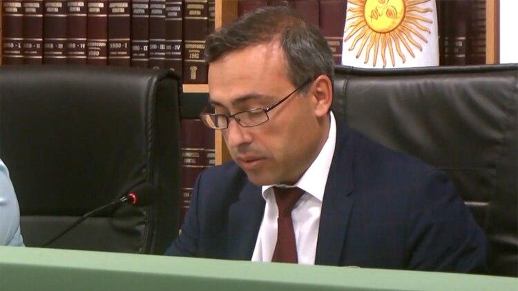 El juez Nieto di Biase.