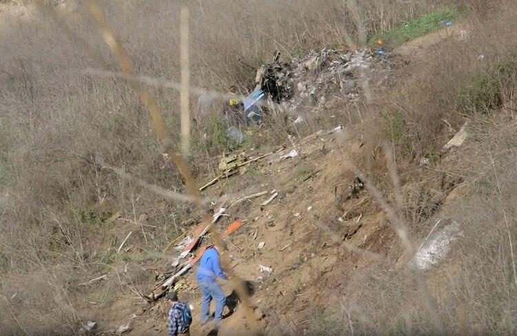 Así quedó el lugar del accidente (Reuters)