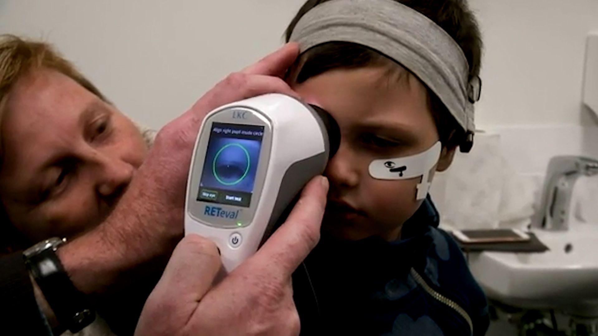 Un test de retina con una cámara de alta resolución permitiría detectar trastornos del autismo