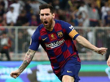 Lionel Messi es nuevamente el futbolista mejor pago del planeta (REUTERS/Sergio Perez/File Photo)