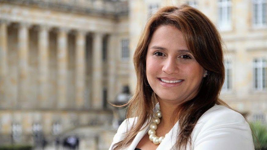 Paola Holguín, senadora de Colombia. Foto: senado.gov.co