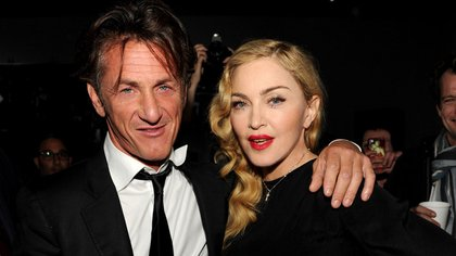"""En la actualidad Madonna y Sean Penn se declaran """"amigos"""" después de un matrimonio marcado por episodios violentos de él y la gran exposición de ambos"""