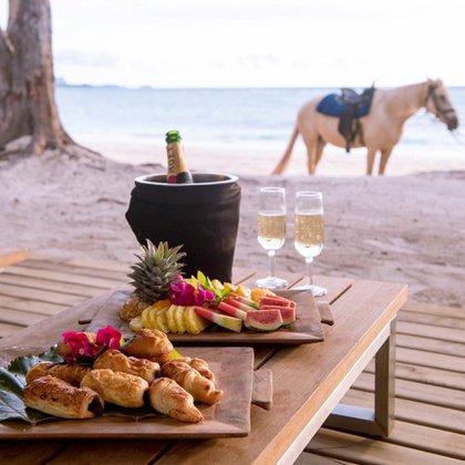 Muchos viajeros conocen la isla de la Tortuga, que forma parte del archipiélago de Fiji. El nombre refleja una de las principales características de la isla: las tortugas son los principales habitantes de la isla (@turtlefiji)