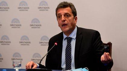 Sergio Massa, presidente de la Cámara de Representantes (Foto: Maximiliano Luna)