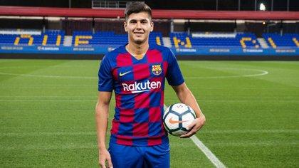 El defensor de 18 años todavía no llegó a debutar con la camiseta del Barcelona (FC Barcelona)