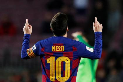 Lionel Messi está realizando una enorme temporada con Barcelona (REUTERS/Albert Gea)