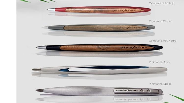 La lapicera viene en diferentes modelos.
