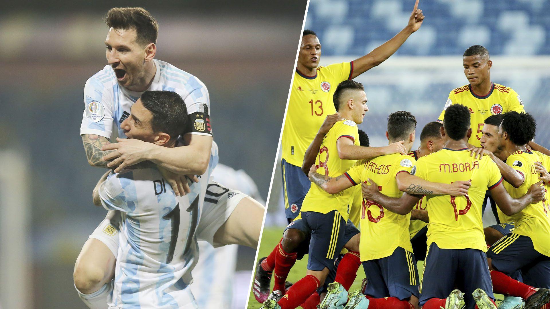 argentina vs colombia copa america portada previa
