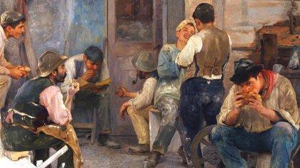 """La belleza del día: """"La hora del almuerzo"""", de Pio Collivadino"""