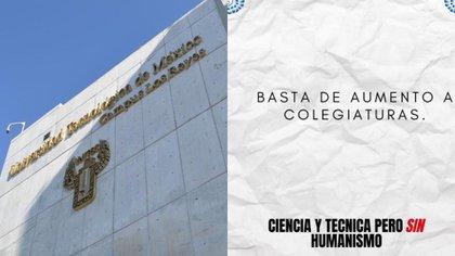 Alumnos y padres levantaron la voz contra la UNITEC por aumento de colegiaturas en pandemia (Foto: Twitter @UNITECMX / @JeonMagy)