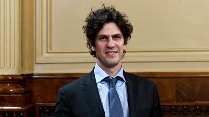 Martín Lousteau, senador nacional (Evolución-UCR) Crédito: Fotografía Senado de la Nación
