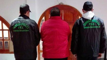 Manuel Benavides Espichan lideraba la organización desde su casa en Berisso