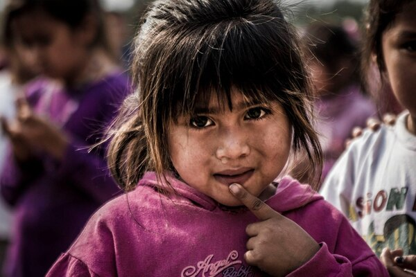 Los niños son quienes más sufren la carencia y desnutrición en el Impenetrable.