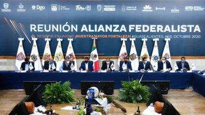 Alianza Federalista contra AMLO. (Foto; Twitter@AFederalista)