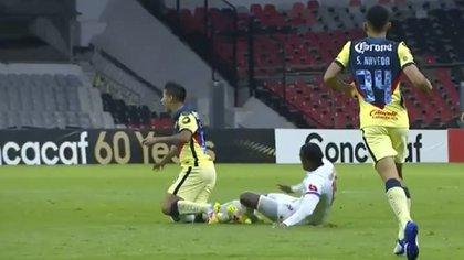 """Cuál es la exigencia del Club América a la Concacaf tras la brutal lesión de """"Chucho"""" López en el duelo contra Olimpia"""