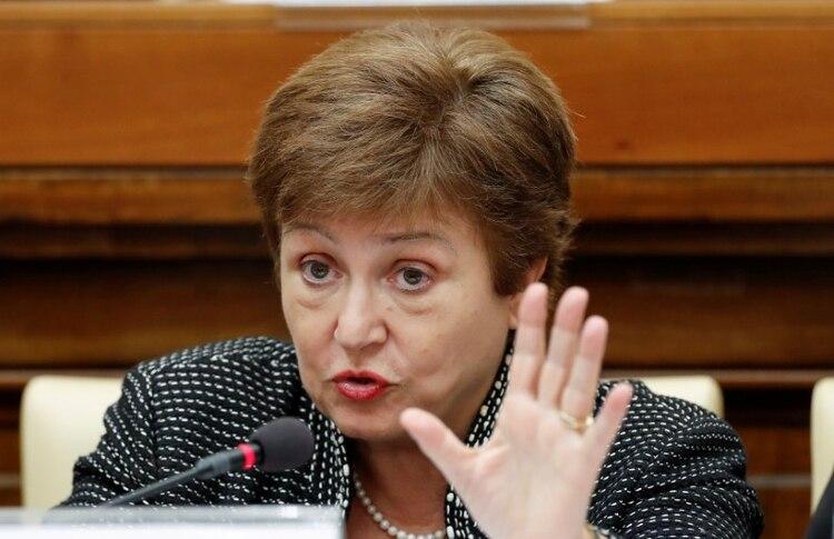 La directora gerente del Fondo Monetario Internacional, Kristalina Georgieva