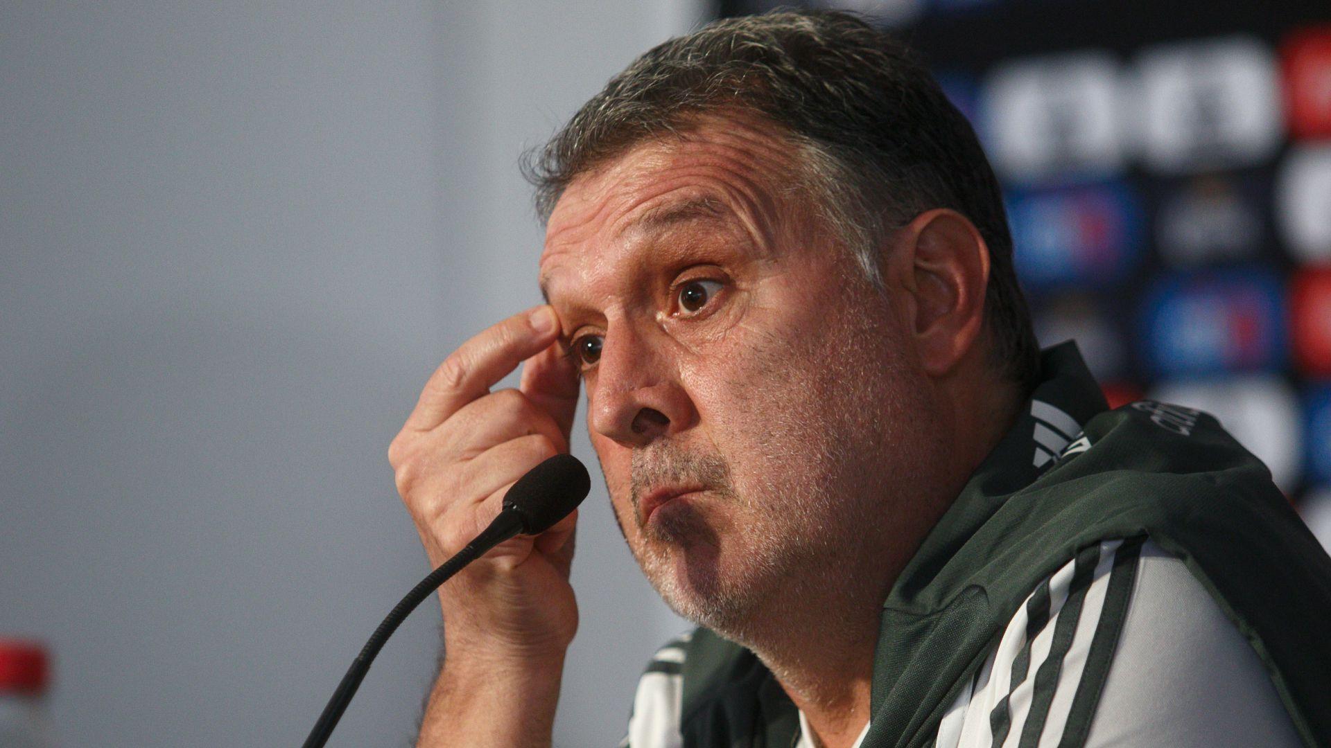 El técnico argentino de México debutará oficialmente ante Cuba (Foto: Cuartoscuro)