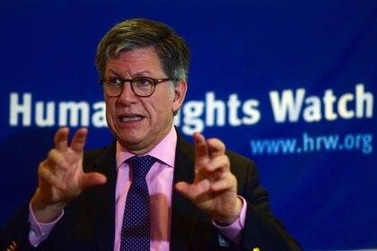José Miguel Vivanco, director de Human Rights Watch para las Americas (REUTERS/Andrea Martinez)