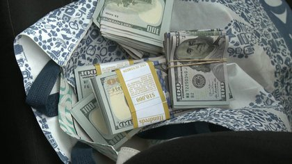 El delincuente estuvo a punto de llevarse 31 mil dólares