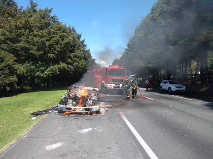 Hasta el momento se desconocen las causas del incendio (FOTO: Bomberos CDMX)