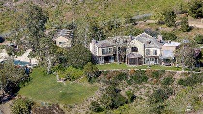 Así es por dentro la mansión que Meghan Markle y Harry le quieren a comprar a Mel Gibson.(The Grosby Group)