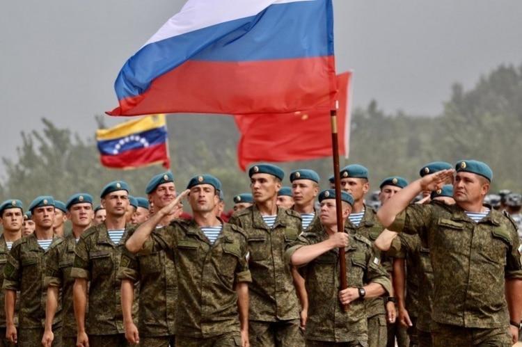 Resultado de imagen para soldados rusos en venezuela