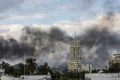 La capital de Sinaloa vivió horas de pánico y terror tras la captura de Ovidio Guzmán López (Foto: Hector Parra/ AP)
