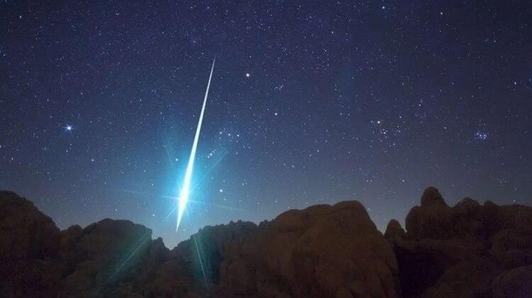 Un meteorito podría caer en Rusia (Foto: Archivo)