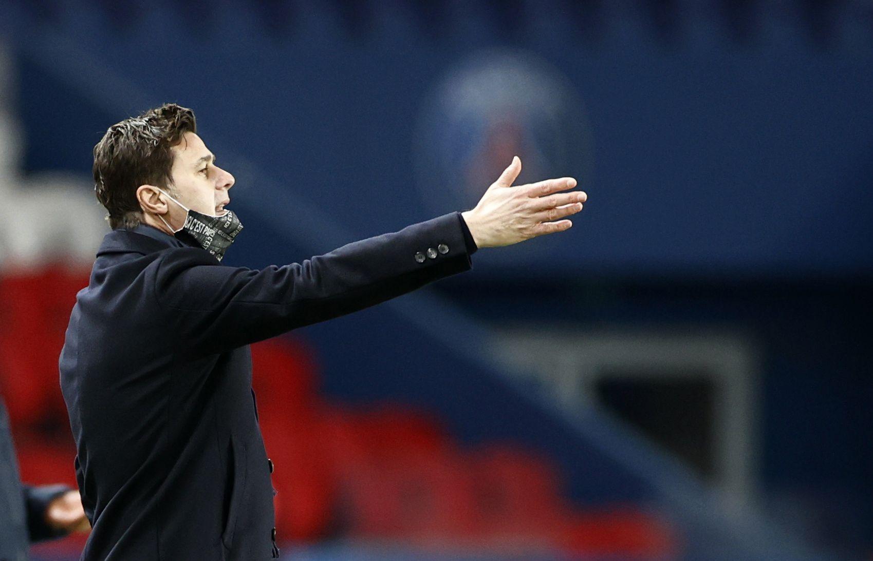 Pochettino es el director técnico del París Saint Germain desde comienzo de enero (Foto: Reuters)