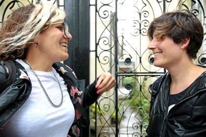 Amigas y activistas: entre otros temas debatieron sobre las violencias específicas que padecen las lesbianas (Gabriela Hernández)