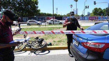 El turista fue asesinado esta mañana en Retiro (Maximiliano Luna)