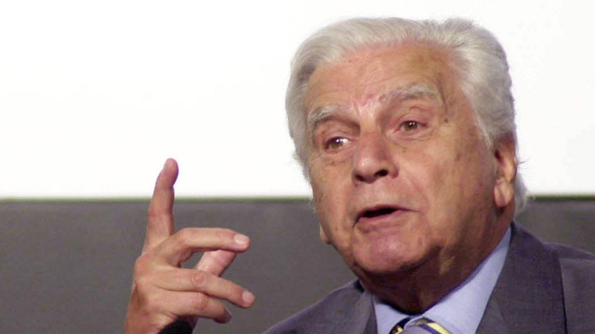 Antonio Cafiero (foto de archivo)