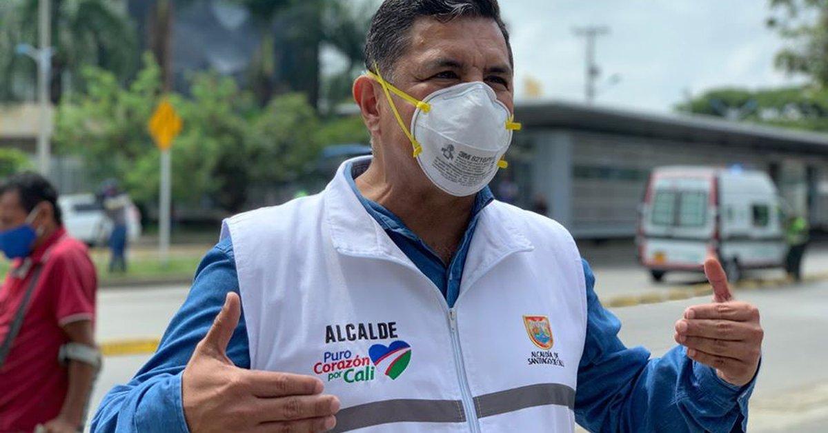 Mayor of Cali Tested Negative For Coronavirus