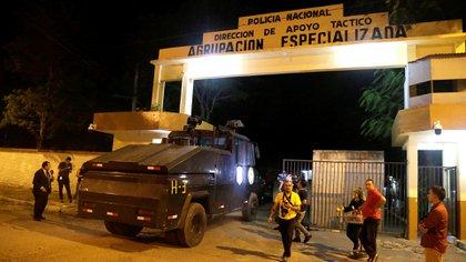 El lugar donde se encuentra Ronaldinho en Paraguay (REUTERS/Jorge Adorno)