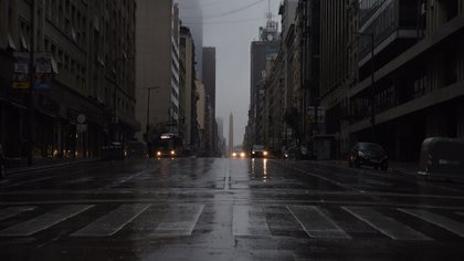 El apagón en la ciudad de Buenos Aires (Franco Fafasuli)