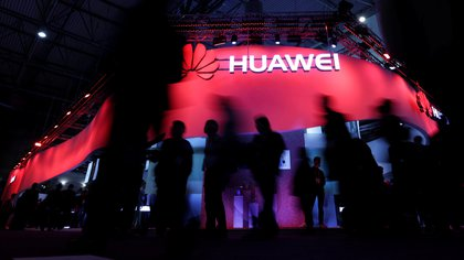 Huawei en el Word Mobile Congress de Barcelona (REUTERS/Eric Gaillard/archivo)