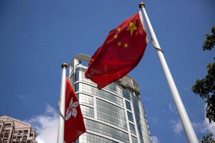 Fachada del hotel Metropark Causeway Bay en Hong Kong, China. De acuerdo con medios de prensa, este hotel se ha covertido en el cuartel general de la Oficina de Seguridad Nacional de China en Hong Kong.EFE/EPA/JEROME FAVRE