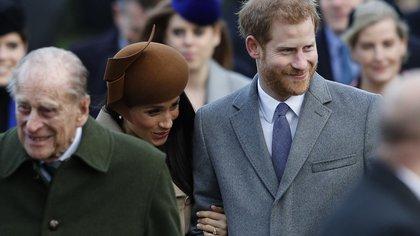 Qué dijo el duque de Edimburgo cuando se enteró sobre la explosiva entrevista de Harry y Meghan a Oprah