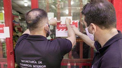 La secretaría de Comercio Interior clausuró un local en Palermo
