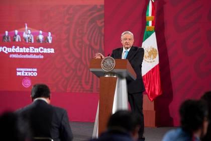 López Obrador insistió en la defensa de la decisión tomada por el regulador energético (Foto: Cortesía Presidencia)