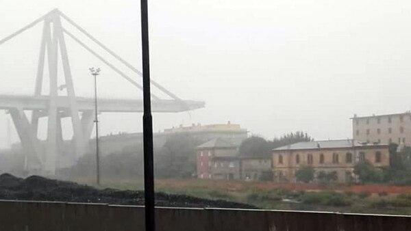 El viaducto se emplaza sobre una zona urbana