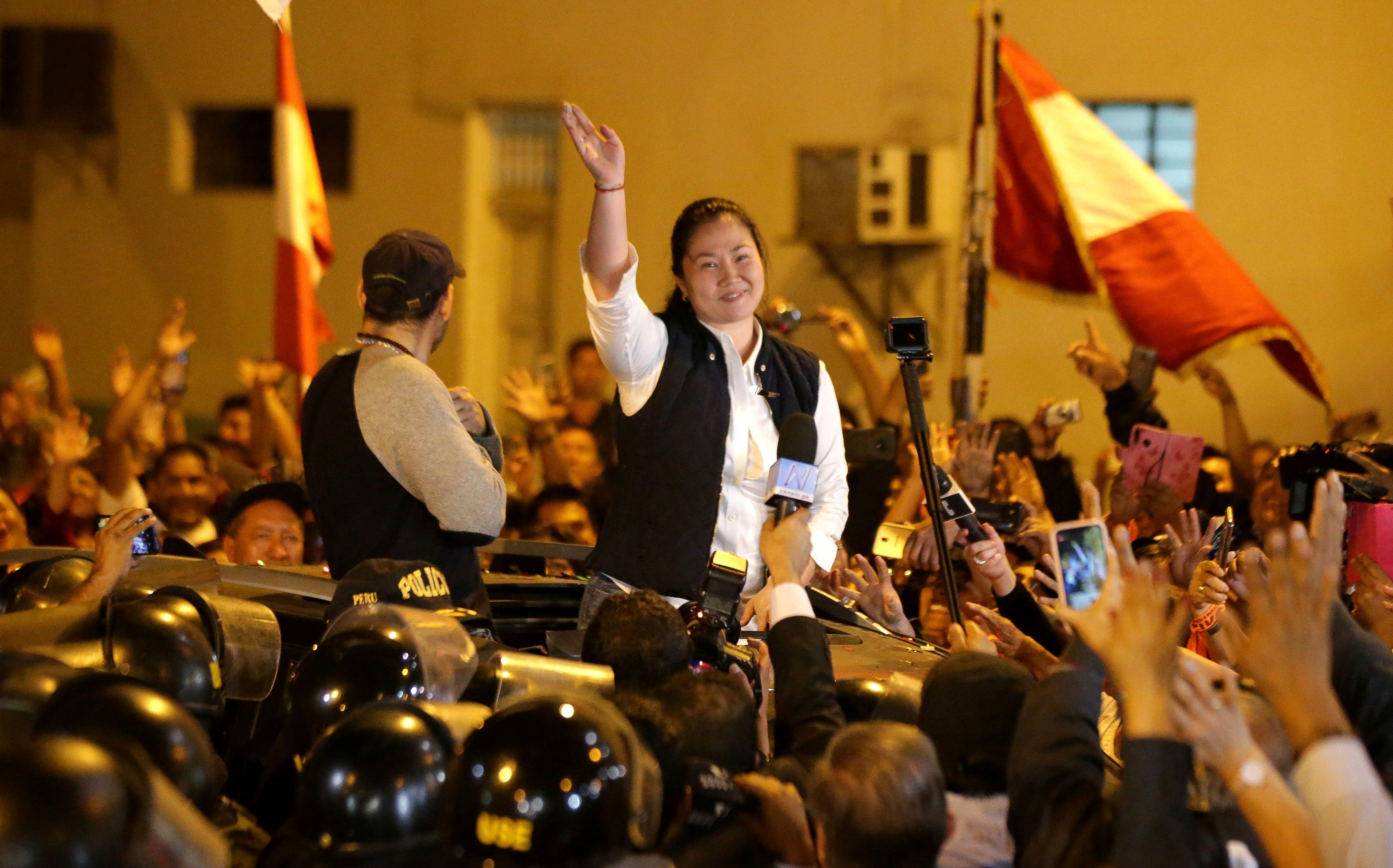 La liberación de Keiko Fujimori fue criticada por miembros del Poder Judicial (Reuters)
