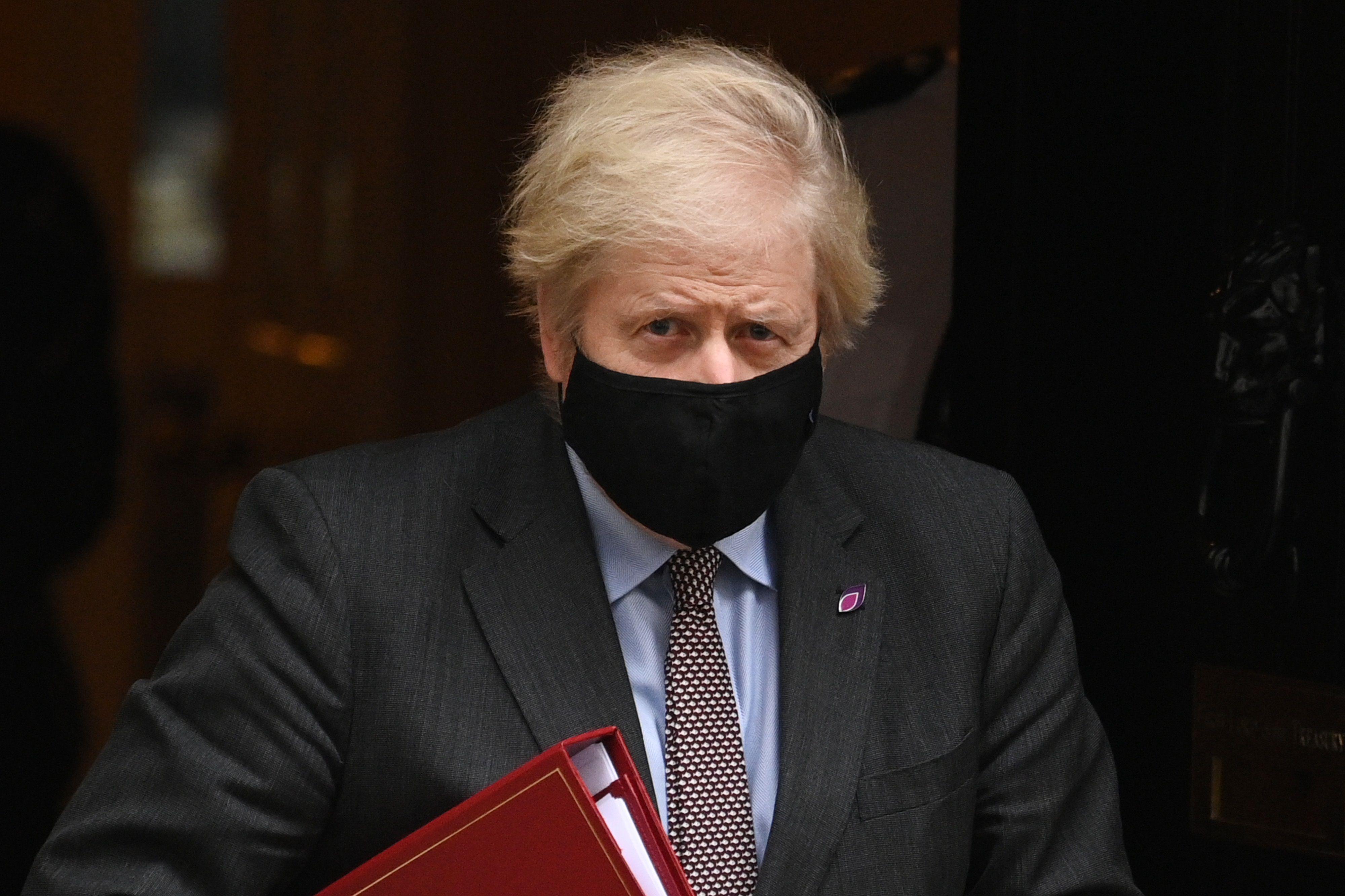 27/01/2021 Boris Johnson, primer ministro de Reino Unido POLITICA EUROPA INTERNACIONAL REINO UNIDO LEON NEAL
